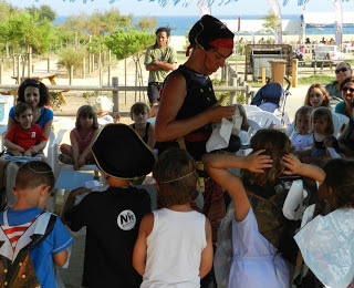 Hora del conte i taller per a infants amb Kids & Us (25.07.2013)